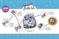Tickle Tots 2 Cloth Nappy - Scales